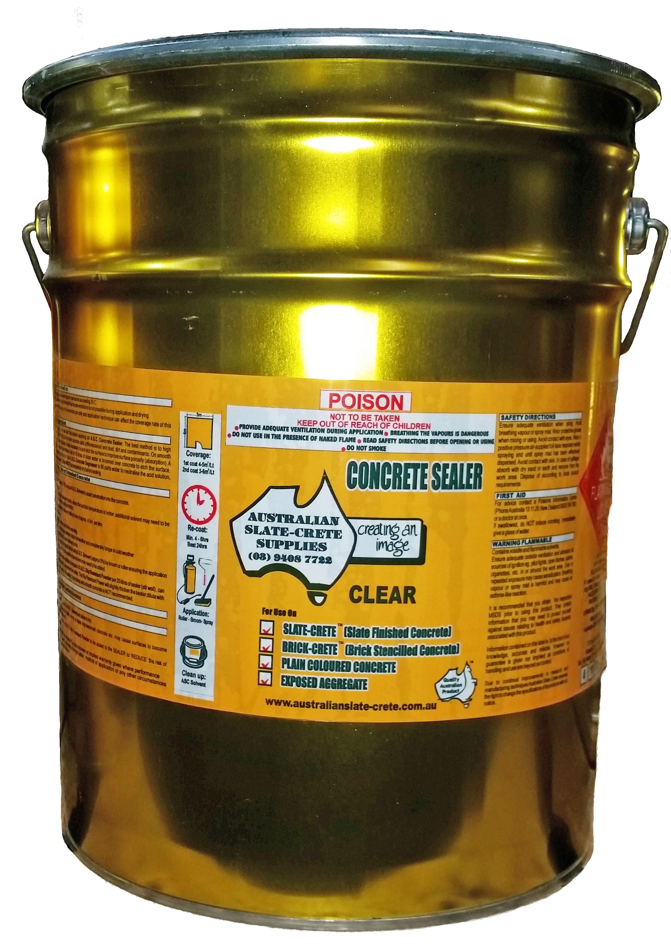 CONCRETE SEALER  CLEAR   20LT (H)
