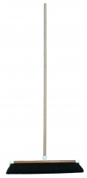 600mm TIMBER BACK BROOM-ALL HAIR&HANDLE