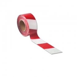 #75mm X 100M RED/WHITE STR BARRIER TAPE