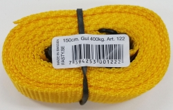 FASTY STRAP 1.5m x 25mm YELLOW (10)