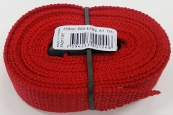 FASTY STRAP 2.5m x 25mm RED (10)