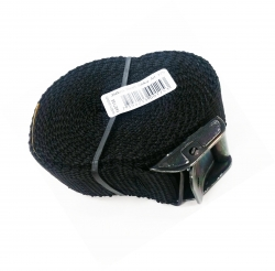 FASTY STRAP 3.5m x 25mm BLACK (10)