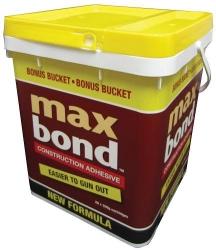 MAXBOND BUCKET (20x320g) C/ADHESIVE