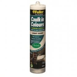 CAULK IN COLOUR LIGHT IVORY 450g