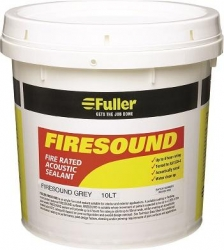 **FIRESOUND ACOUSTIC SEALANT GREY 10Ltr