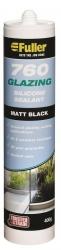 **760 GLAZING SILICONE 400g MATT BLACK