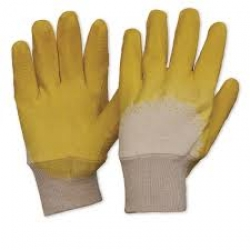 GLOVE YELLOW GLASS GRIPPERS (12) L 1070