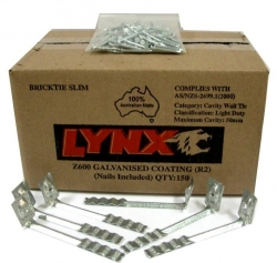 ***LYNX WALL TIES SLIM (150) - Click for more info