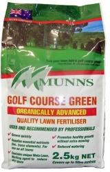 2.5KG GOLF COURSE GREEN MUNNS (55238)