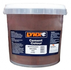 BROWN  OXIDE 4kg (8660) MAHONGANY