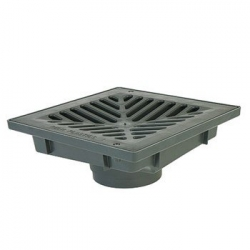 RELN UNI PIT WITH PLASTIC GRATE BLACK