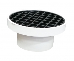 SW 90MM FINISHING COLLAR & GRATE