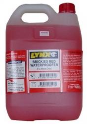 5LTR BRICKIES RED LYNX Waterproofer