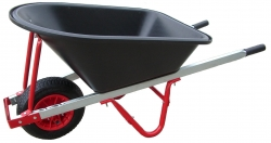 ASS L/DUTY BARROW(RED)BOLTED N/WHEEL